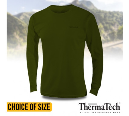 ThermaTech Mens SpeedDri Base Layer Tops