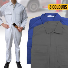Long Sleeve Polycotton Overalls