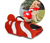 Dog Life Jacket Clown Fish Vest