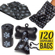 Pet Waste Bags with Dispenser
