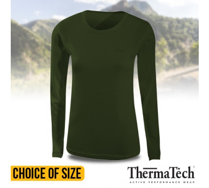ThermaTech Womens SpeedDri Base Layer Tops