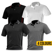 Mens Piped Polo Shirt