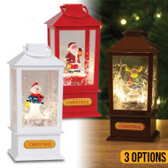 Spinning Christmas  Lantern With Music