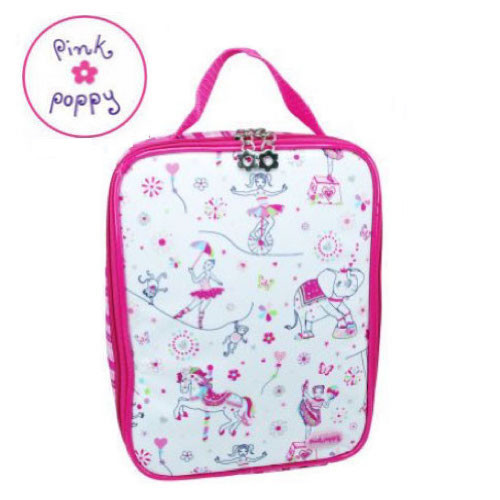 Pink Poppy Carnival Lunch Bag