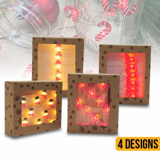 Festive Magic LED Wire Christmas Deco lights