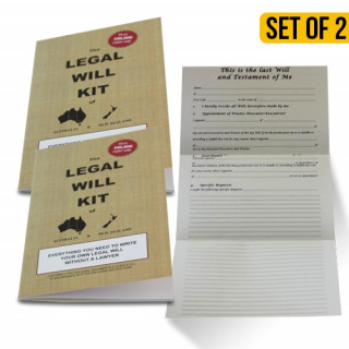 Legal Will Kit of Australia and NZ